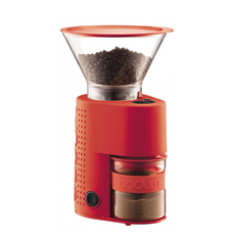 Bodum Bistro Electric Coffee Grinder (Red)