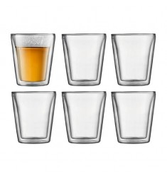Bodum Canteen Double Wall Thermo-glasses 6.5oz (6pcs)