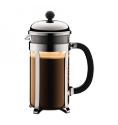 Bodum Chambord French Press  (34oz - Stainless Steel)