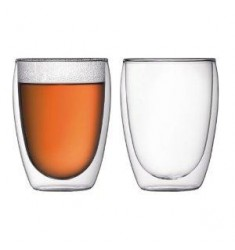 Bodum Pavina Double Wall Glasses 12oz