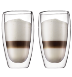 Bodum Pavina Double Wall Glasses (15oz)