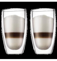Bodum Pavina Double Wall Glasses (15oz)