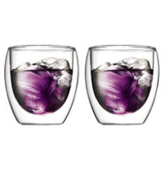 Bodum Pavina Double Wall Glasses (8oz)