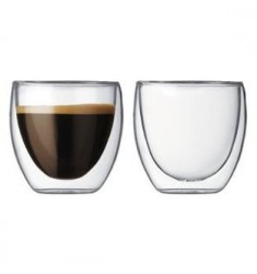 Bodum Pavina Shot Glasses 2.5oz (2 Pcs)