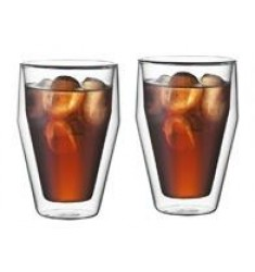 Bodum Titlis Double Wall Glasses 11oz X 2 Glasses