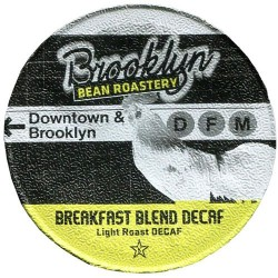 Brooklyn Bean Roaster Breakfast Blend Decaf Coffee