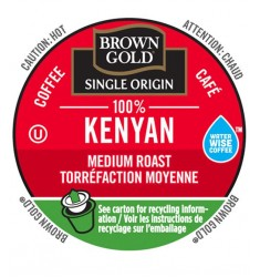 Brown Gold 100% Kenyan Coffee