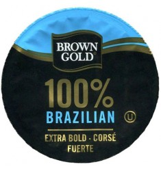 Brown Gold 100% Brazilian Coffee
