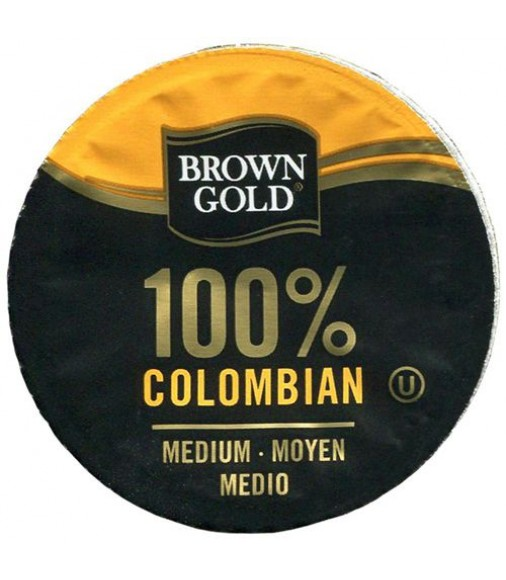 Brown Gold 100% Colombian Coffee