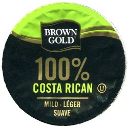Brown Gold 100% Costa Rican Coffee