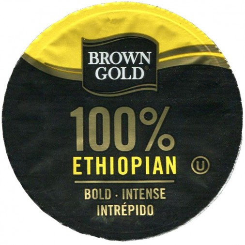 Brown Gold 100% Ethiopian Coffee
