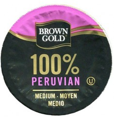 Brown Gold 100% Peruvian Coffee