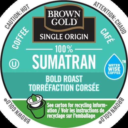 Brown Gold 100% Sumatran Coffee