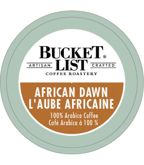 Bucket List Coffee Roastery African Dawn