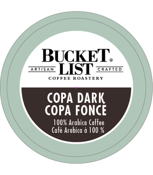 Bucket List Coffee Roastery Copa Dark
