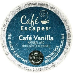 Café Escapes Vanilla Café (96 CUPS)
