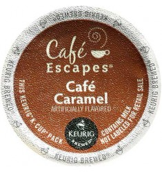 Café Escapes Caramel Coffee (96 CUPS)