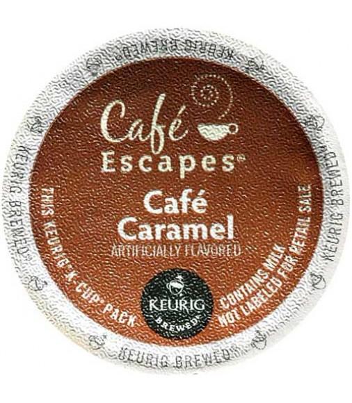Café Escapes Caramel Coffee (96 CUPS)
