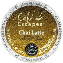 Café Escapes Chai Latte Coffee (96 CUPS)