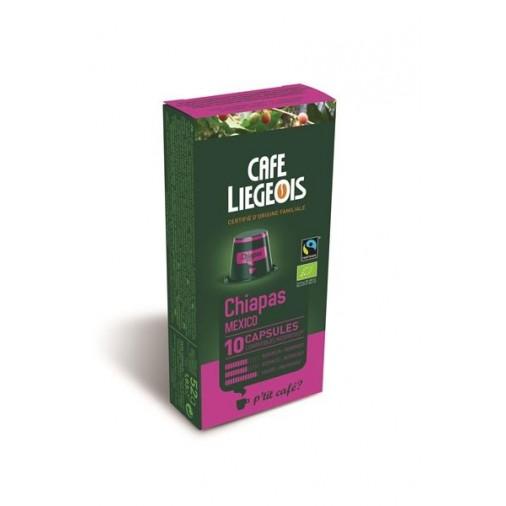 Cafe Liegeois Chiapas 10 Capsules for Nespresso