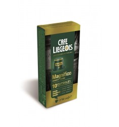 Cafe Liegeois  Magnifico 10 Capsules for Nespresso