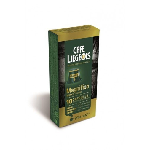 Cafe Liegeois  Magnifico 10 Capsules for Nespresso