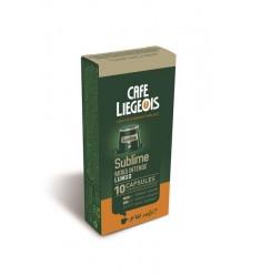 Cafe Liegeois Sublime 10 Capsules for Nespresso