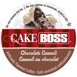 Cake Boss Chocolate Cannoli Coffee