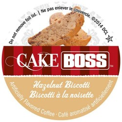 Cake Boss Hazelnut Biscotti Coffee