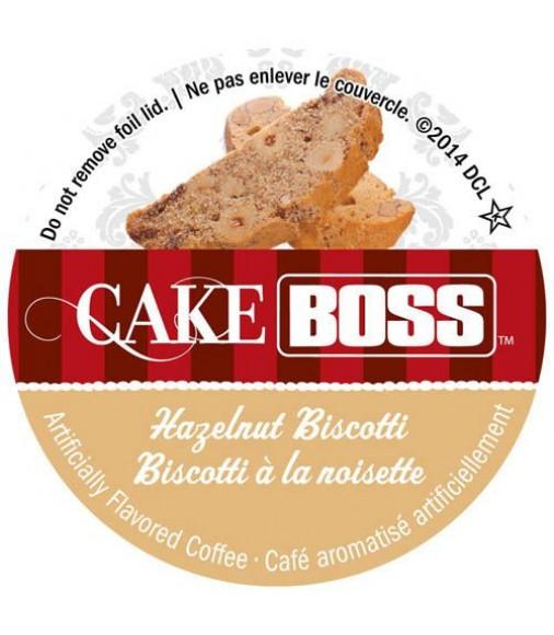 Cake Boss Hazelnut Biscotti Coffee