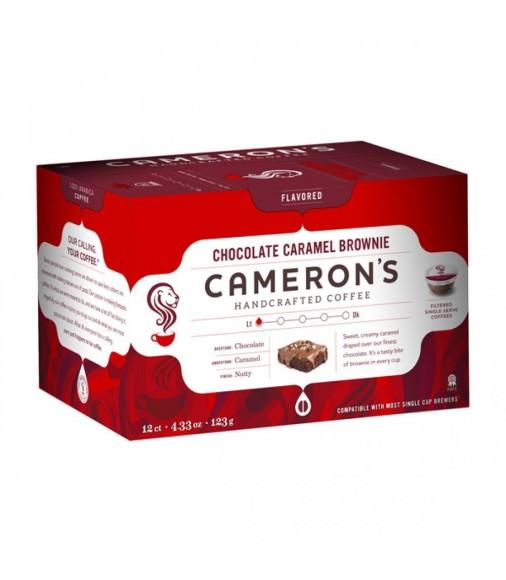 Cameron's Single Serve Chocolate Caramel Brownie