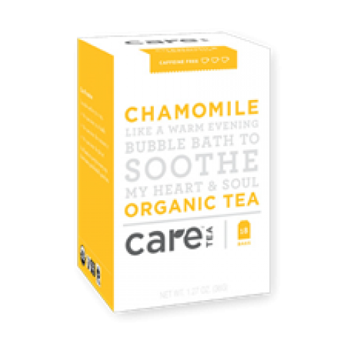Care Tea Chamomile Organic Tea Bags