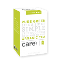 Care Tea Pure Green Organic Tea Bags