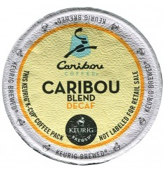 Caribou Coffee Caribou Blend Decaf (96 CUPS)
