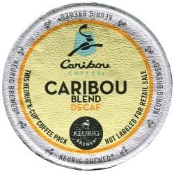 Caribou Coffee Caribou Blend Decaf (96 CUPS)