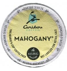 Caribou Coffee Mahogany