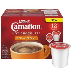 Carnation Hot Chocolate Rich and Creamy Single Serve