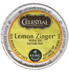 Celestial Seasonings Lemon Zinger Herbal Tea (96 CUPS)