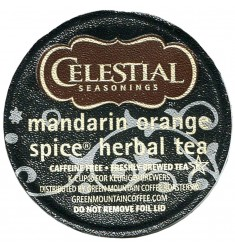 Celestial Seasonings Mandarin Orange Spice Herbal Tea (96 CUPS)