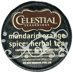 Celestial Seasonings Mandarin Orange Spice Herbal Tea