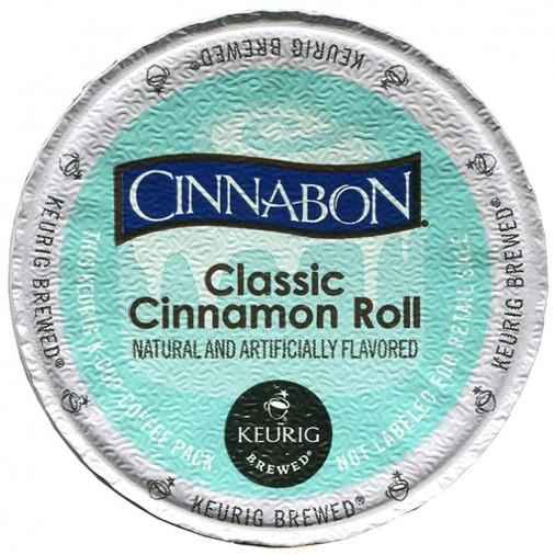 Cinnabon Classic Cinnamon Roll, Keurig K-Cups