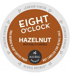Eight O'Clock Hazelnut Coffee