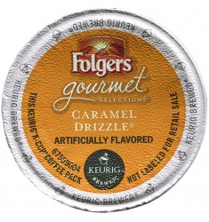 Folgers Caramel Drizzle Coffee