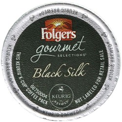 Folgers Gourmet Black Silk Coffee