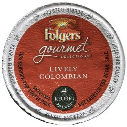 Folgers Lively Colombian Coffee