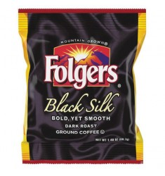 Folgers Black Silk Fraction Packs (42 Packets)