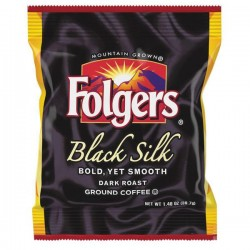 Folgers Black Silk Flaked Filter Packs (40 Packets)