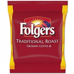 Folgers Classic Roast Flaked Filter Packs (40 Packets)