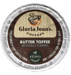 Gloria Jean's Butter Toffee (96 cups)