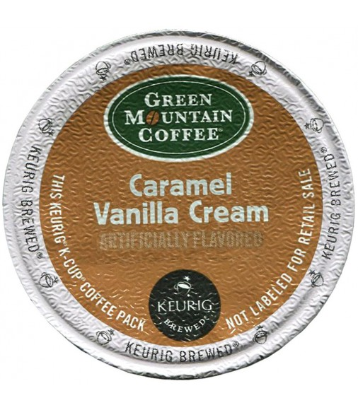 Green Mountain Caramel Vanilla Cream Coffee (96 cups)
